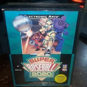 Sega Genesis. Super Baseball 2020